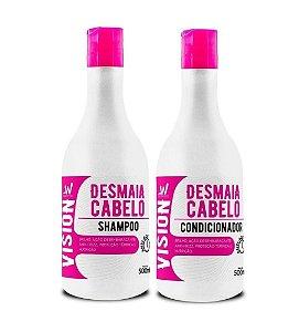 VISION Desmaia Cabelo Kit Shampoo + Condicionador 500ml