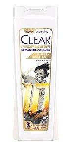 CLEAR Sports Shampoo Anticaspa Limpeza Hidratante com Eucalipto 200ml