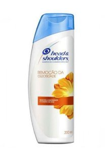 HEAD & SHOULDERS Shampoo Anticaspa Remoção da Oleosidade 200ml