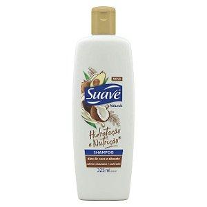 SUAVE Hidratação e Nutrição Shampoo Shampoo 325ml