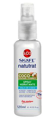 SKAFE Natutrat SOS Força da Natureza Coco Spray Hidratante 120ml