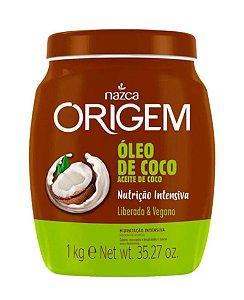 ORIGEM Creme de Hidratação Condicionante Óleo de Coco Vegano 1Kg