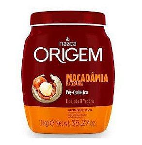 ORIGEM Creme de Hidratação Condicionante Macadâmia Vegano 1Kg