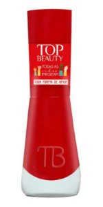 TOP BEAUTY Premium Esmalte Vegano Todas as Vidas Importam Cremoso Toda Forma de Amor 9ml