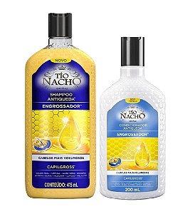 TÍO NACHO Antiqueda Engrossador Shampoo 415ml + Condicionador 200ml