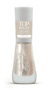 TOP BEAUTY Premium Esmalte Vegano Cintilante Perolada 9ml