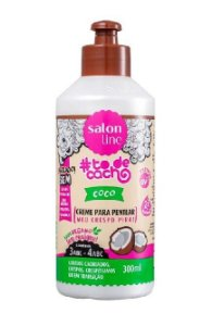 SALON LINE #ToDeCacho Coco Creme para Pentear Vegano 300ml