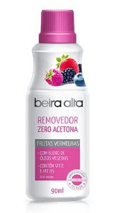 BEIRA ALTA Removedor de Esmalte Zero Acetona com Frutas Vermelhas 90ml