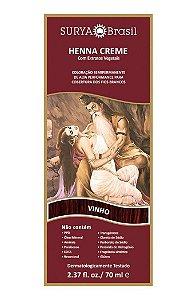 SURYA Henna Creme Tonalizante Vegano Vinho 70ml