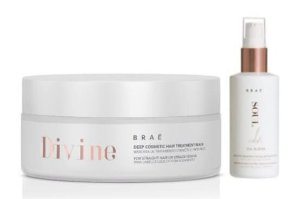 BRAÉ Kit Máscara Capilar para Tratamento Profundo Divine 200g + Oil Blend Soul Color 60ml