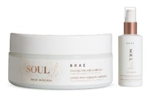 BRAÉ Soul Color Kit Máscara Capilar 200g + Oil Blend 60ml