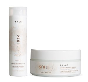 BRAÉ Soul Color Kit Shampoo 250ml + Máscara Capilar 200g
