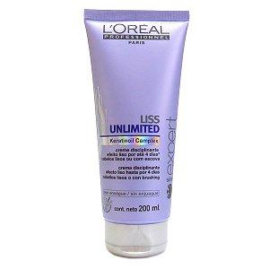 L'Oréal Professionnel Liss Unlimited Creme Disciplinante - 200ml