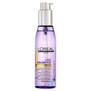 L'Oréal Professionnel Liss Unlimited Evening Primrose Oil Potencializador de Brilho - 125ml