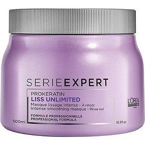 L'Oréal Professionnel Expert Liss Unlimited Prokeratin Máscara - 500g