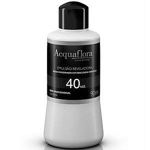 Acquaflora Emulsão Reveladora Água Oxigenada 40vol - 90ml