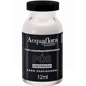 Acquaflora Pós-Coloração Fluído Concentrado Reestruturante 12ml