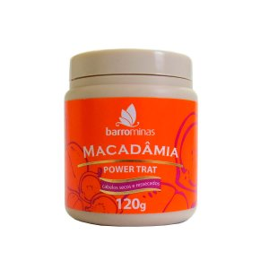 Barrominas Power Trat Macadâmia - 120g