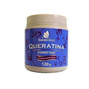 Barrominas Power Trat Queratina - 120g