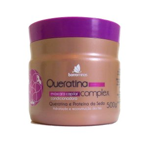 Barrominas Queratina Complex Máscara - 500g