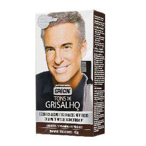 GRECIN Shampoo Tonalizante Tons Grisalhos 40g