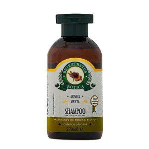 Bio Extratus Botica Arnica Menta Shampoo para Cabelos Oleosos 270ml