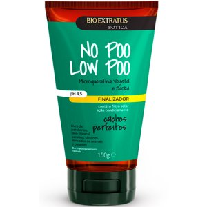 Bio Extratus Cachos Perfeitos No Poo Low Poo Finalizador para Cabelos Cacheados 150g