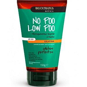 Bio Extratus Cachos Perfeitos No Poo Low Poo Gelatina para Cabelos Cacheados 150g