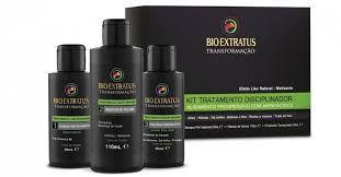 Bio Extratus Kit Tratamento Disciplinador Alisamento Progressivo 2x50ml + 110ml