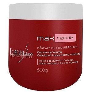 Forever Liss Max Redux Máscara Redutora de Volume - 500g