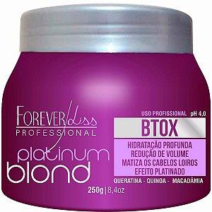 Forever Liss Platinum Blond Botox Máscara - 250g
