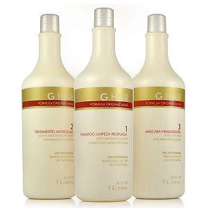 G.Hair Kit Escova Progressiva Alemã - 3x1L
