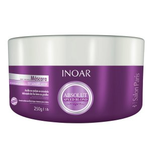 Inoar Absolut Speed Blond Máscara Violeta - 250ml