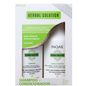 Inoar Herbal Solution Shampoo + Condicionador - 2x250ml