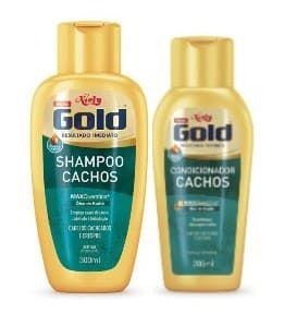 NIELY Gold Cachos Kit Shampoo 300ml + Condicionador 200ml