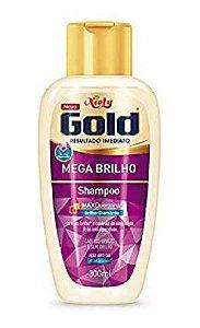 NIELY Gold Mega Brilho Shampoo MaxQueratina 300ml