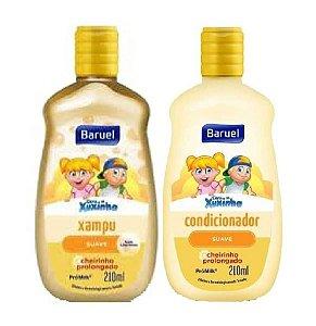 BARUEL Turma da Xuxinha Kit Shampoo + Condicionador Suave 210ml