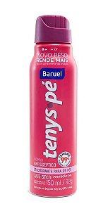 BARUEL Tenys Pé Desodorante para os Pés Woman Jato Seco 150ml