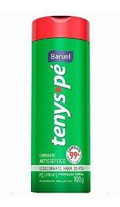 BARUEL Tenys Pé Desodorante para os Pés Canforado Talco 100g