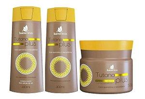 BARROMINAS Tutano Plus Kit Cabelos Secos e Ressecados Shampoo + Condicionador + Máscara