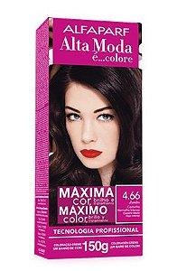 ALTA MODA é ... Colore Coloração Permanente Vermelho 4.66 Jambo Castanho Vermelho Intenso