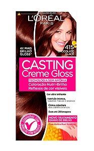 CASTING Creme Gloss Tonalizante 415 Chocolate Glacê