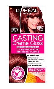 CASTING Creme Gloss Tonalizante 550 Acaju