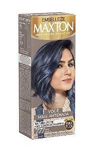 MAXTON Coloração Permanente Kit .777 Azul Denim Você Mais Antenada