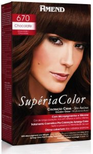 AMEND Supéria Color Tonalizante 670 Chocolate