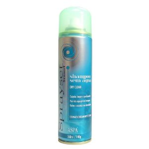 Aspa Sprayset Shampoo sem Água Dry Clean - 260ml