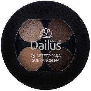 Dailus Color Quarteto para Sobrancelha - 4,5g