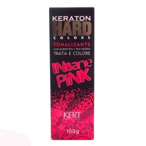 Kert Keraton Tonalizante Hard Colors - Insane Pink - 100g