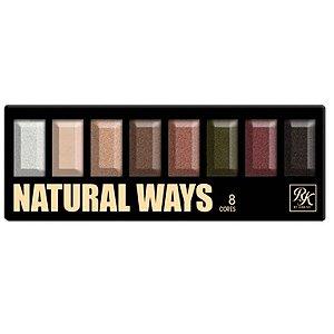 Kiss NY Paleta Natural Ways 8 Cores de Sombras - EPKSET0101