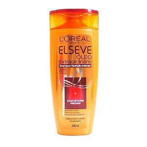Elseve Óleo Extraordinário Nutrição Intensa Shampoo - 200ml